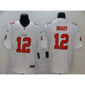 Youth Tampa Bay Buccaneers Tom Brady White Jersey
